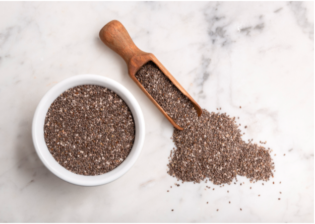 Source of protein from Chia seeds