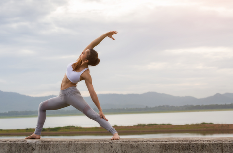 Woman-yoga-pose-energy-vitality-natureal
