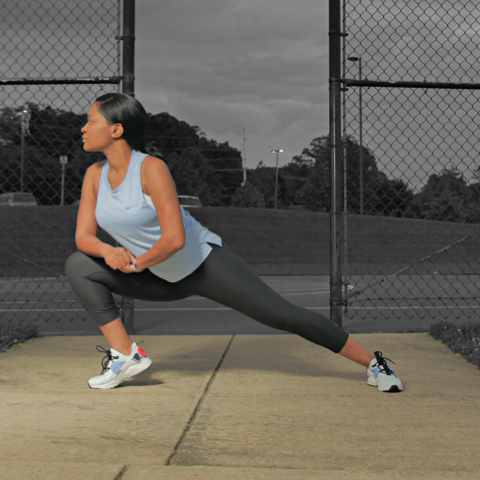 Tiffani S Smith founder of Natureal lunging. Health and fitness new year's resolutions.