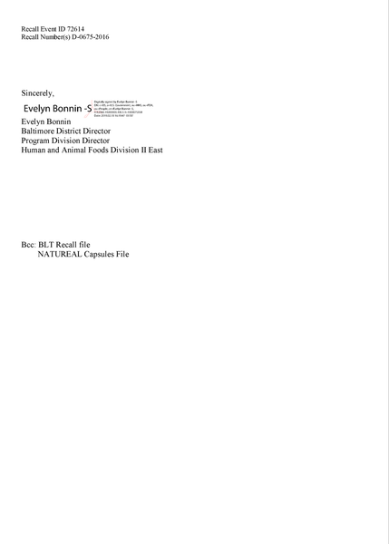 Natureal-supplements-FDA-product-recall-2015-close-out-letter-continued
