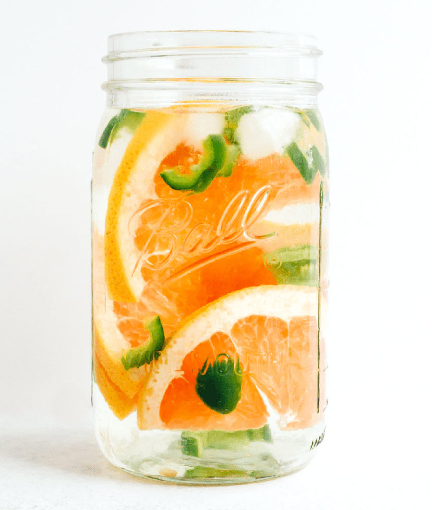 Grapefruit Jalapeno Detox Water - NATUREAL Supplements