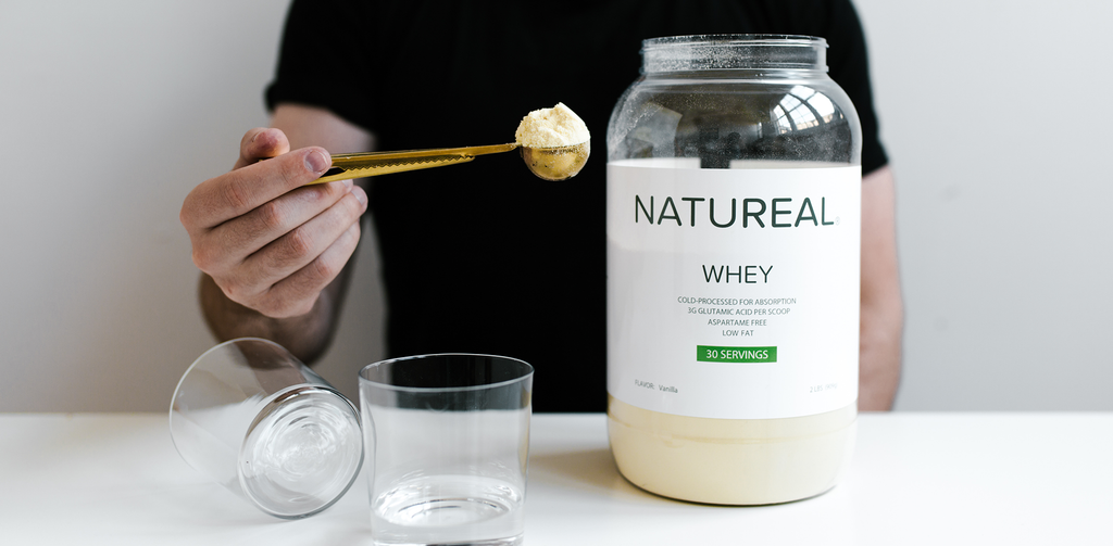 Natureal whey product