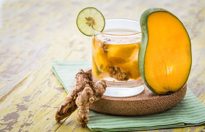 Mango Ginger Detox Water - NATUREAL Supplements