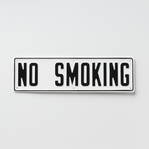 no smoking sign health and fitness new year's resolutions