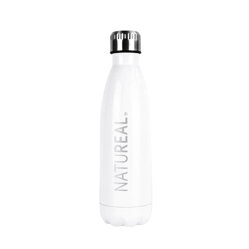 Stainless Steel Water Bottle - NATUREAL Supplements