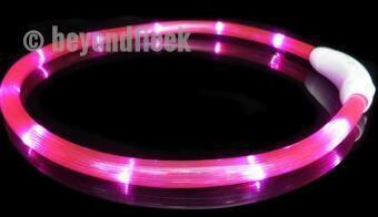 Rechargeable Flashing Night Dog Collars