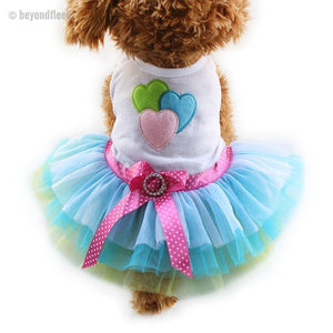 Spring and Summer Fashion Dogs Princess Dresses XS, S, M, L, XL