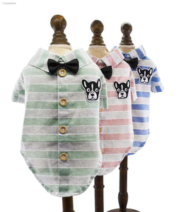 Spring & Summer Small Dog Shirt