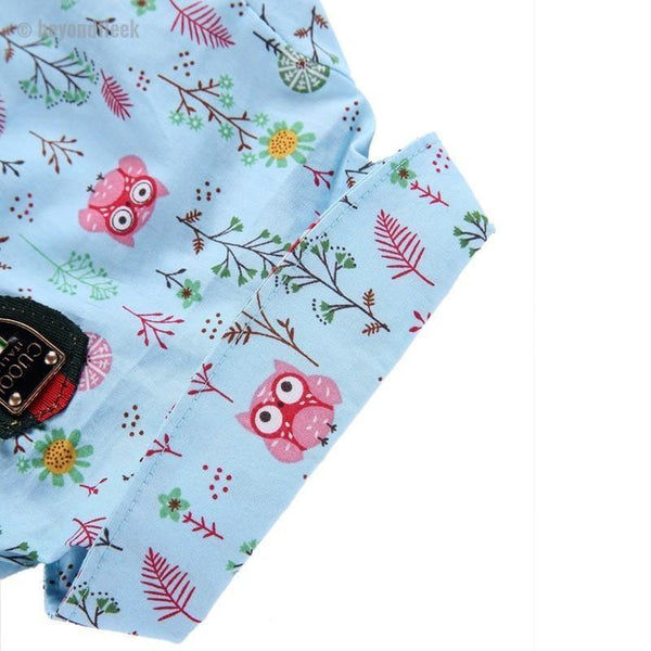Fashion Casual Owl Print Dog T-Shirt
