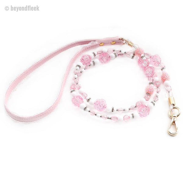Flowers Bead Princess Dog Leashes