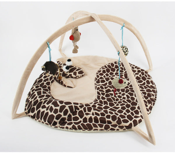 Soft Cute Cartoon Print Tent Pet Play House Toy