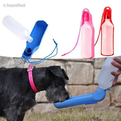 FREE Limited Edition Portable Dog Water Bottle