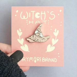 Witch Hats Hard Enamel Pin