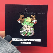 Load image into Gallery viewer, Cry Christmas Hard Enamel Pin