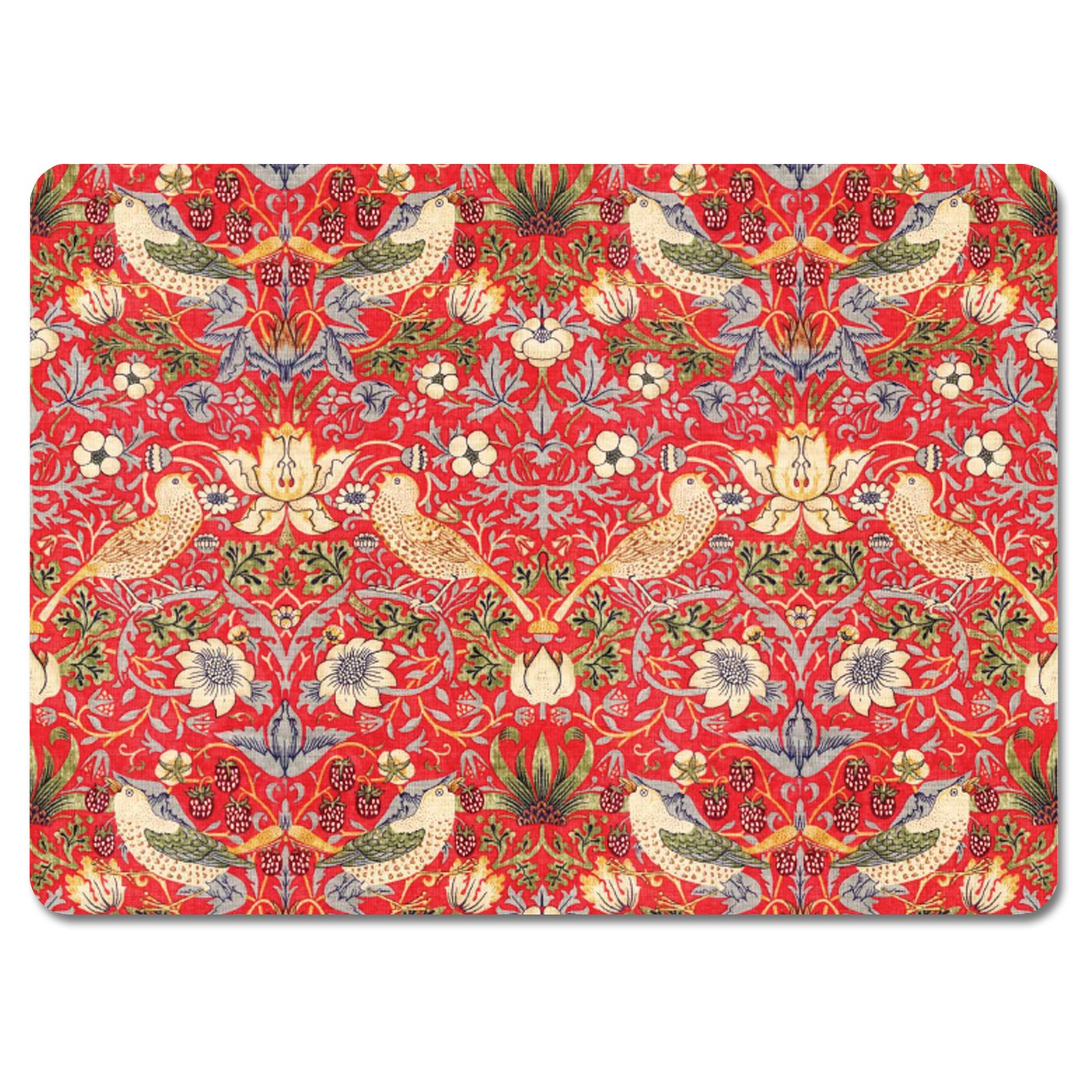 Strawberry Thief Red<br>Tablemat Set of 4