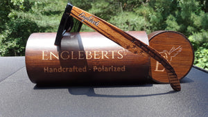 Zebrawood Sunglasses with Case