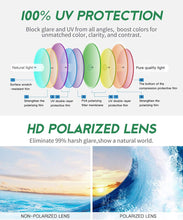 Load image into Gallery viewer, Beach Ball - 100% Skateboard Wooden Sunglasses Polarized With Orange Lenses