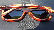 Load image into Gallery viewer, Red Wooden Sunglasses