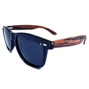 Zebrawood Sunglasses, Polarized