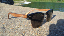 Load image into Gallery viewer, Mens wooden sunglasses
