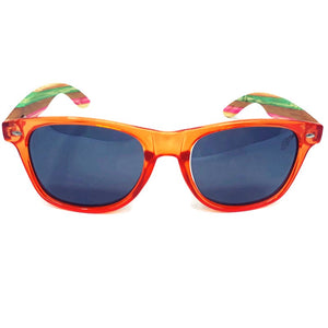 juicyfruit multi colored sunglasses front view