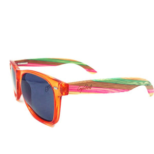 juicyfruit multi colored sunglasses side view