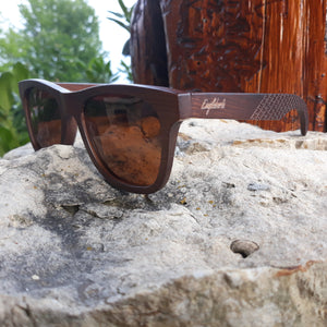 sienna bamboo sunglasses quarter view