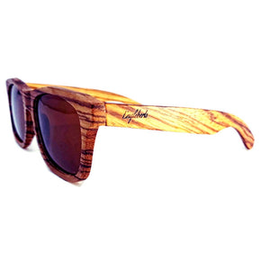 zebrawood full frame sunglasses