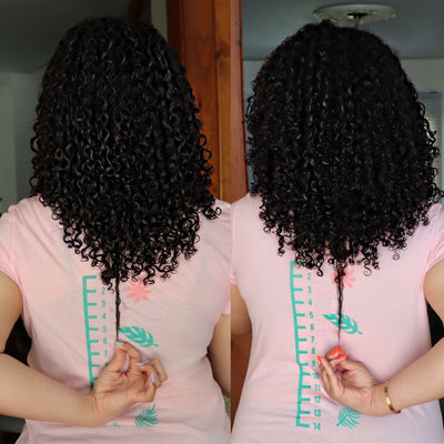 Grow with Bomba Curls 30 Day Hair Growth Challenge