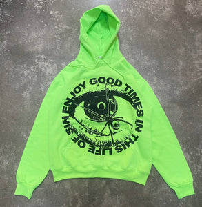 LIFE OF SIN - NEON GREEN (L)