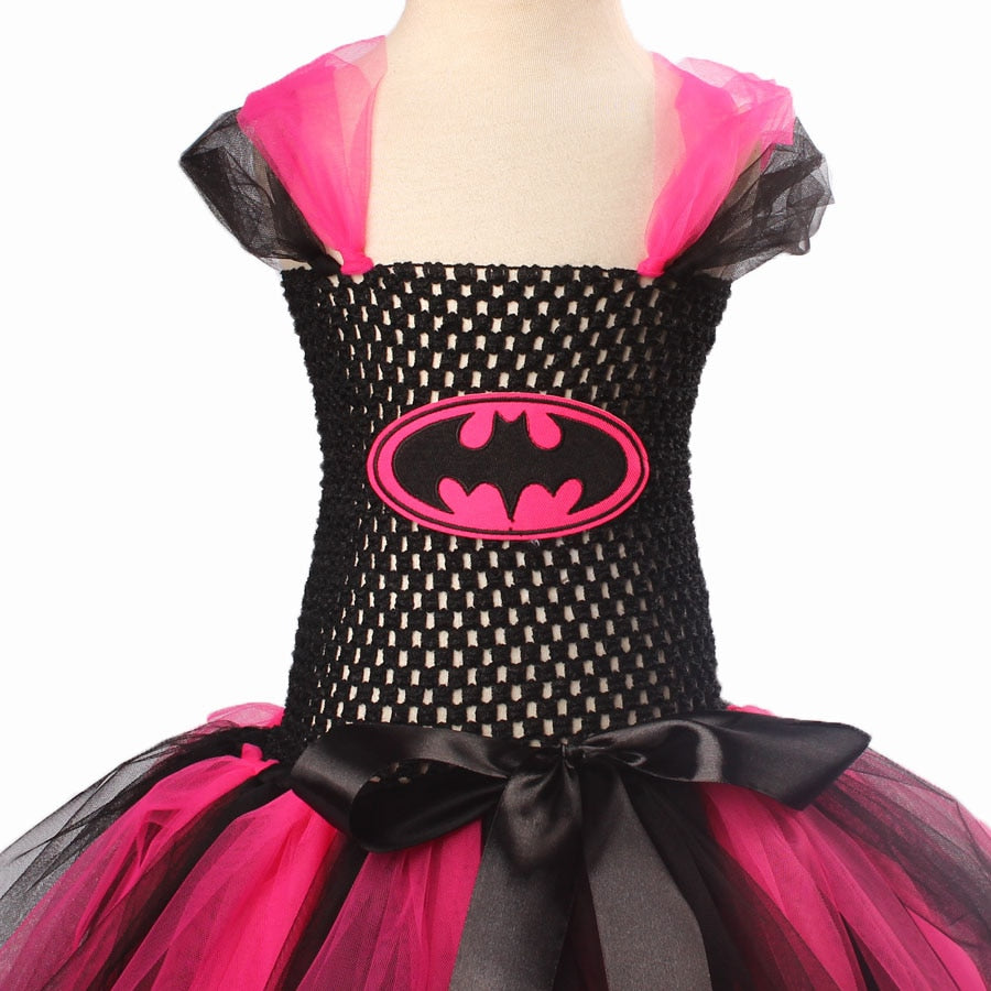 Super Hero Tutu Dress Costume