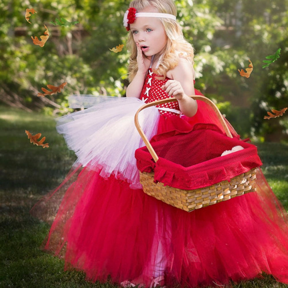 Little Red Riding Hood Tutu Dress
