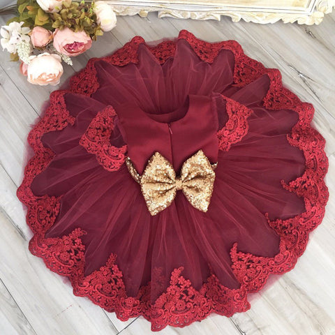 Adorable Lace Tutu Dresses  (Multiple Colors)