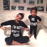 Mother Daughter 'Me Neither' Matching Sweatshirts