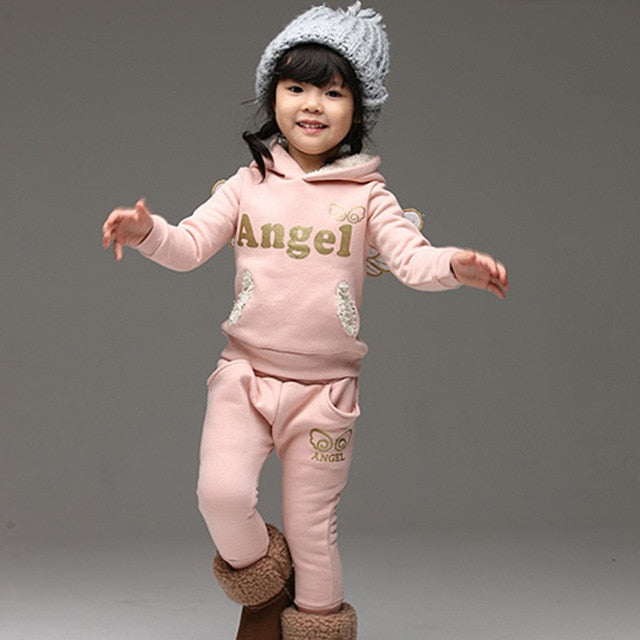 Girls 'Angel' Tracksuit With Wings