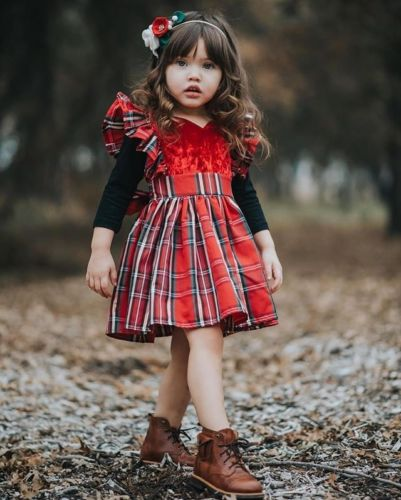 Christmas Plaid Dress