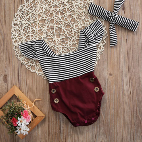 The The Avery Bodysuit+Headband