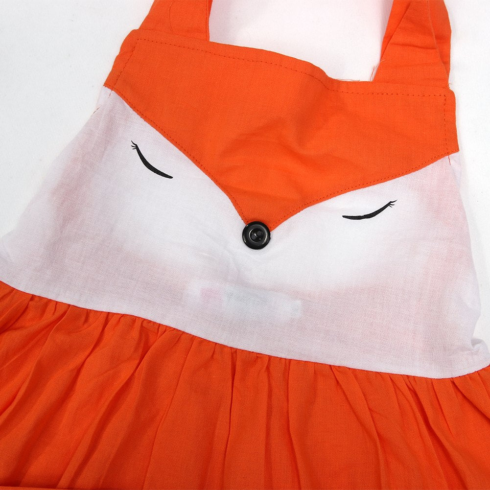 Fox Dress with Pocket