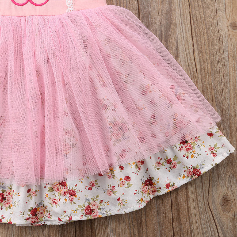 The Aria Girls Bunny Tutu Dress