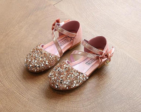 Princess Bling Flat Shoes
