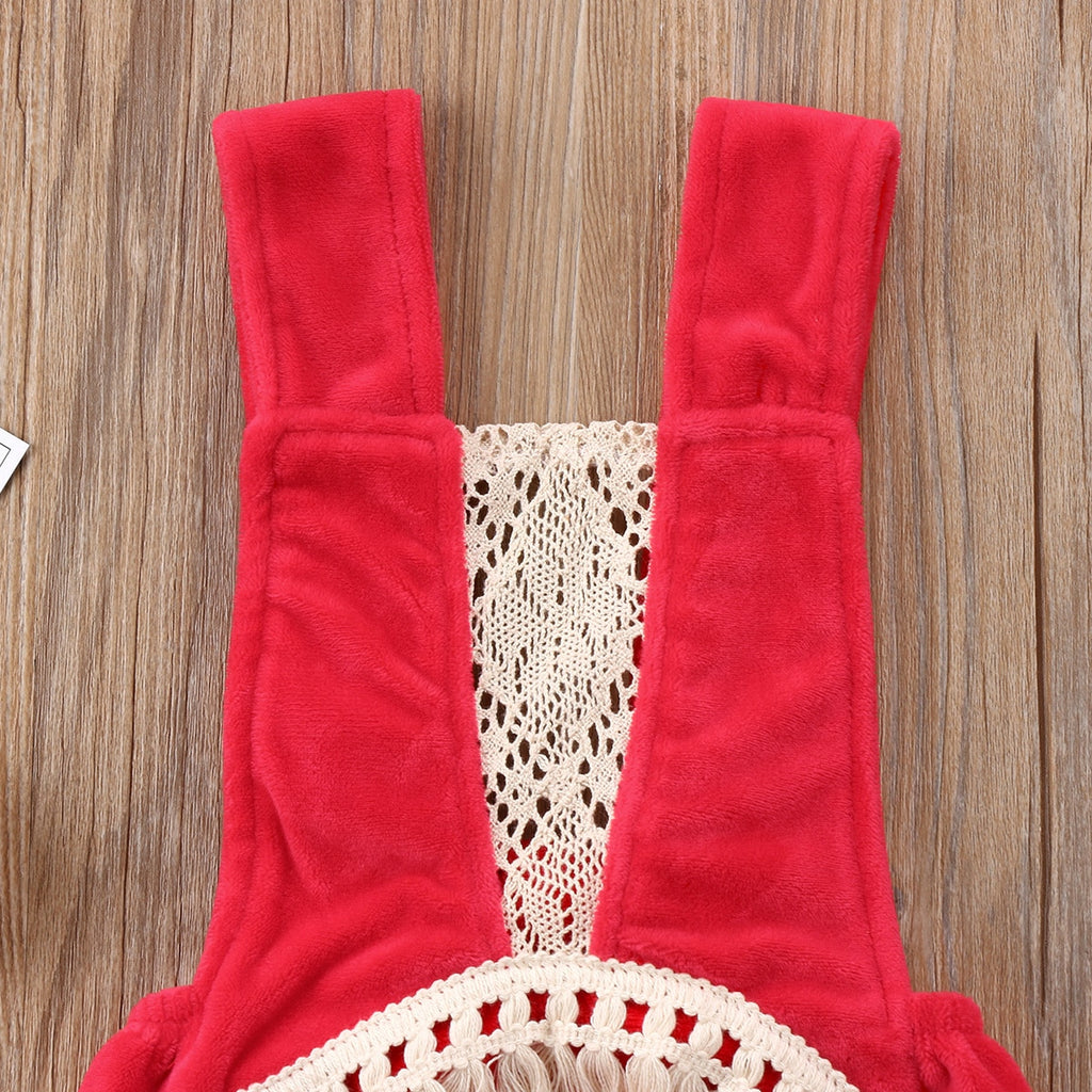 The Livy Tassel Sunsuit Baby Romper