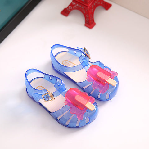 Melted Popsicle Jelly Shoes