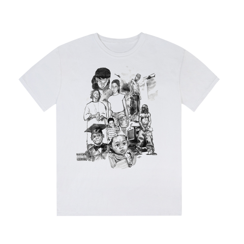 Infinite Archives For Lil Wayne T-Shirt II + DIGITAL ALBUM