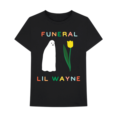 LORIEN STERN FOR LIL WAYNE GHOST FLOWER T-SHIRT II