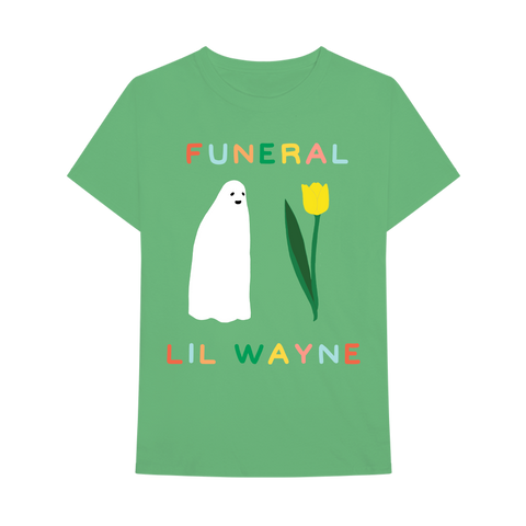 LORIEN STERN FOR LIL WAYNE GHOST FLOWER T-SHIRT I + DIGITAL ALBUM