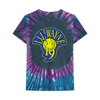SMILEY FACE TYE DYE T-SHIRT