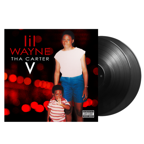THA CARTER V DOUBLE LP + DIGITAL ALBUM