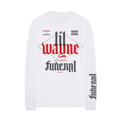 FUNERAL L/S T-SHIRT II + DIGITAL ALBUM