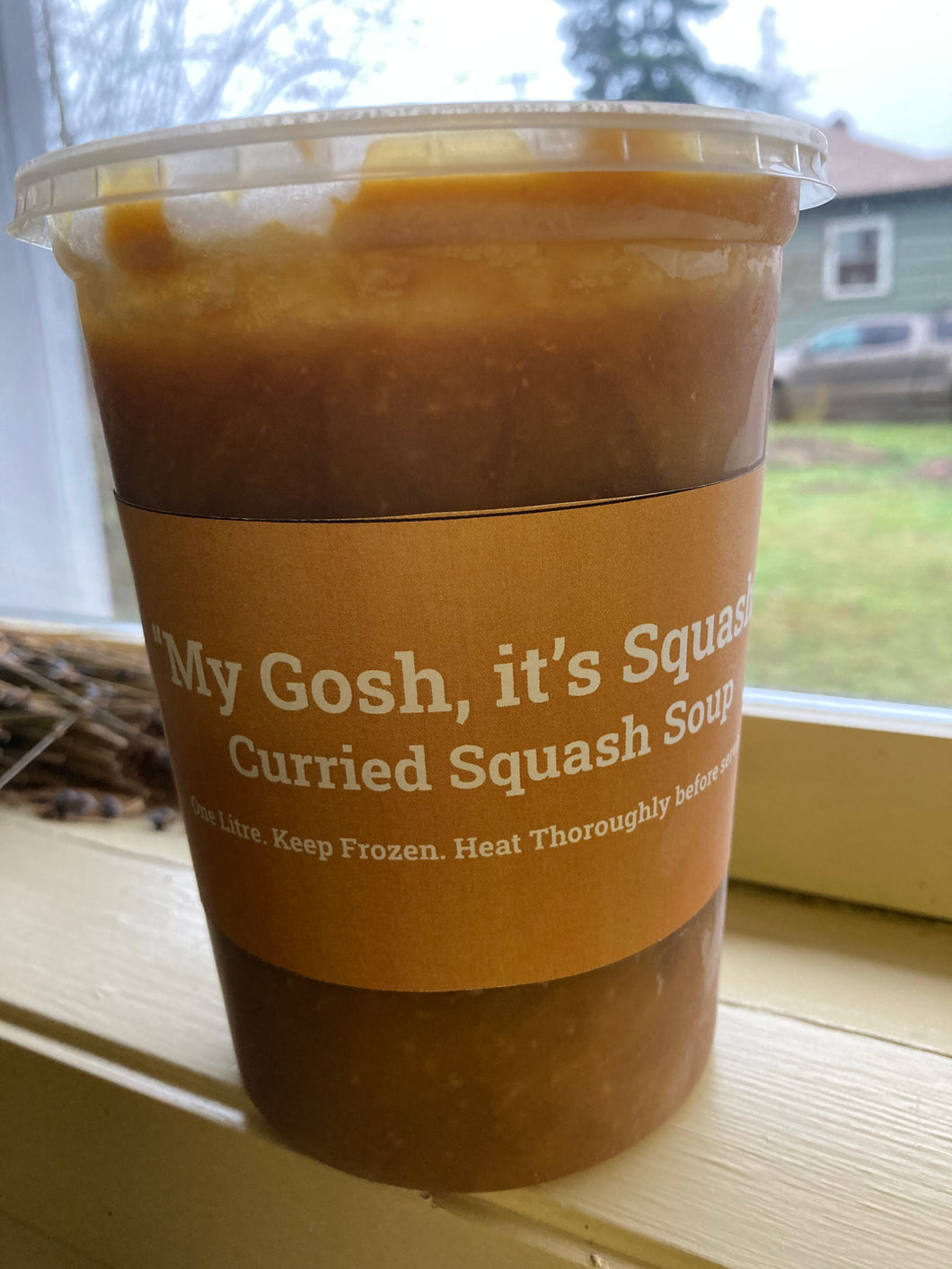 Frozen Curried Squash Soup