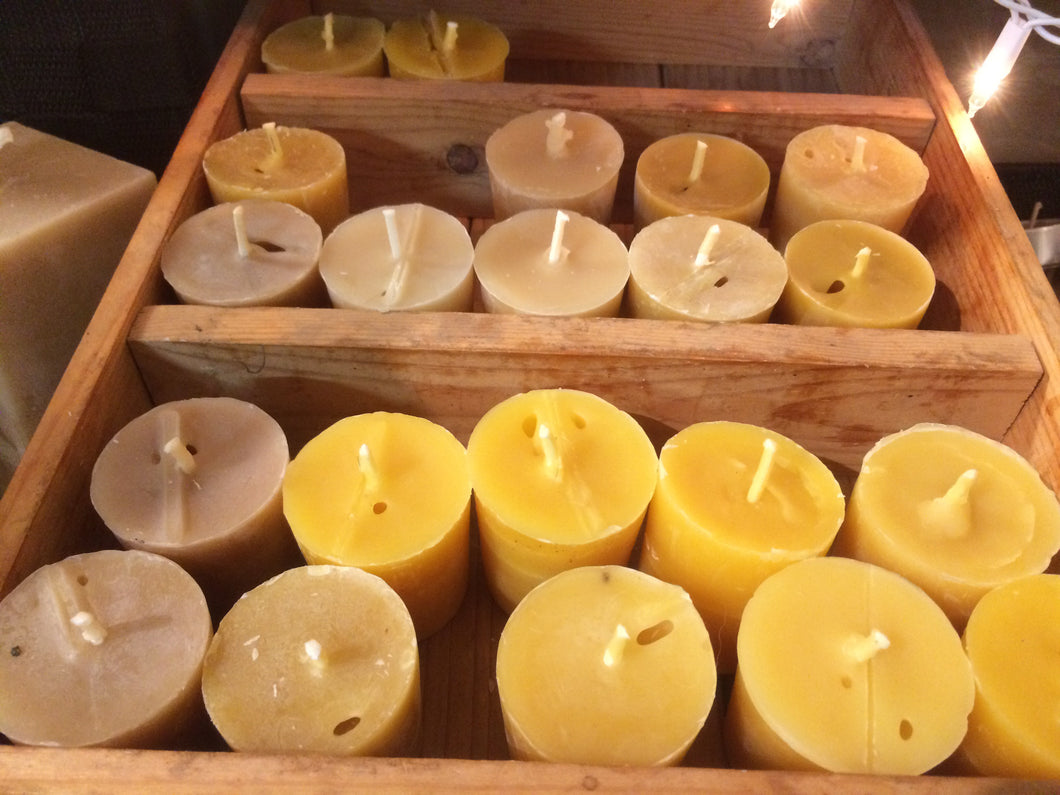 Votive Candles- Pure Beeswax